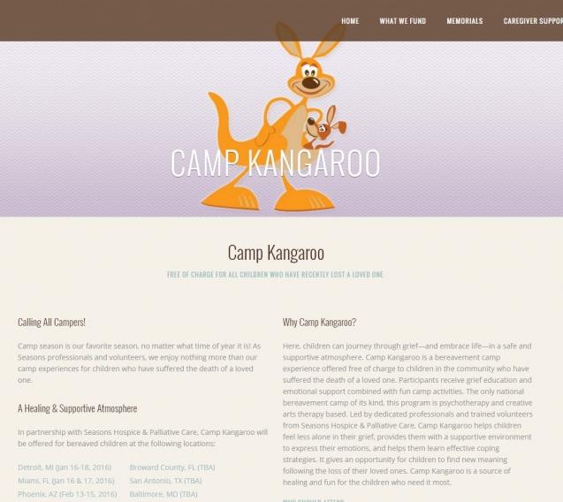Camp Kangaroo   Moyer Foundation